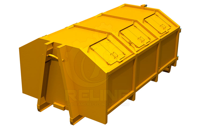 Roll Off Waste Container