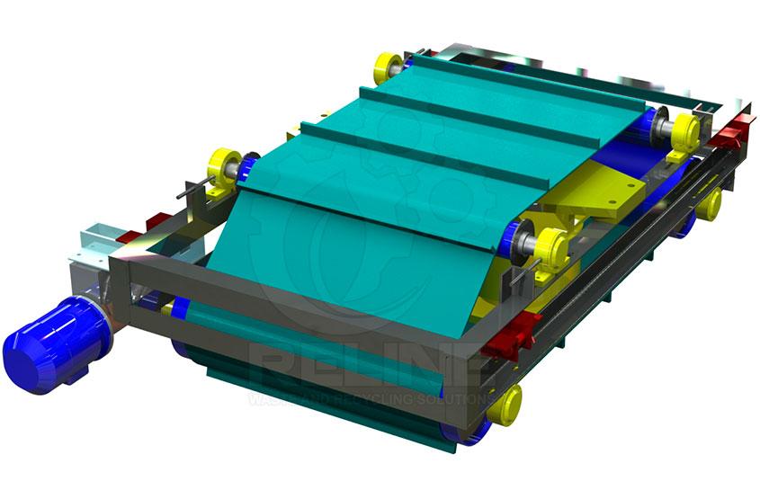 Magnetic Separator Conveyor